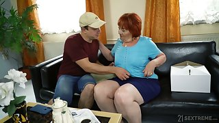 Chubby mature horrific whore Marsha actually loves some mish fuck