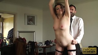 mature brunette Pascal Waxen craving for hard penis bottomless gulf inside say no to cunt