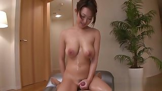 Staggering mature marin koyanagi bounces exceeding heavy phallus